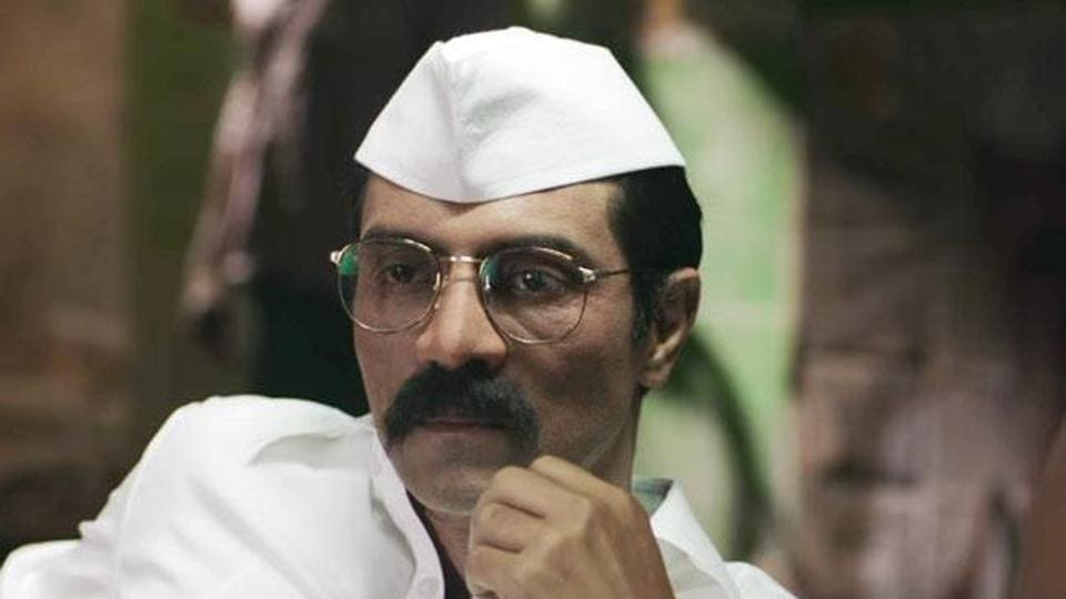 Arjun Rampal plays Arun Gawli in Daddy.