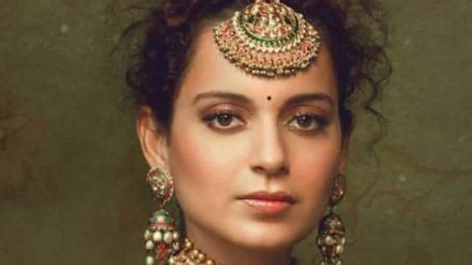 Beautiful pictures of Kangana Ranaut during a photoshoot for Bazaar bridal are going viral online.