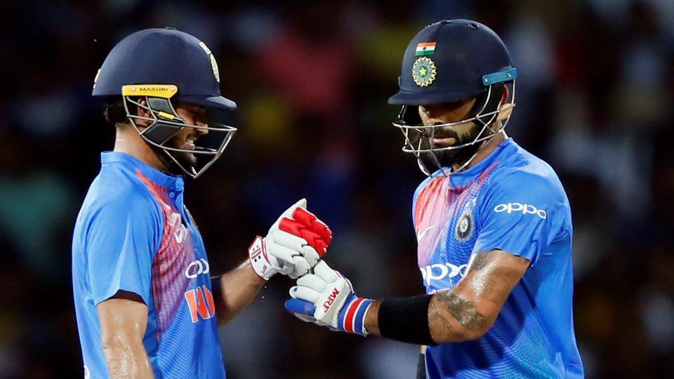 Virat Kohli and Manish Pandey shared a 119-run stand in India's seven wicket win over Sri Lanka in the one-off T20i in Colombo.
