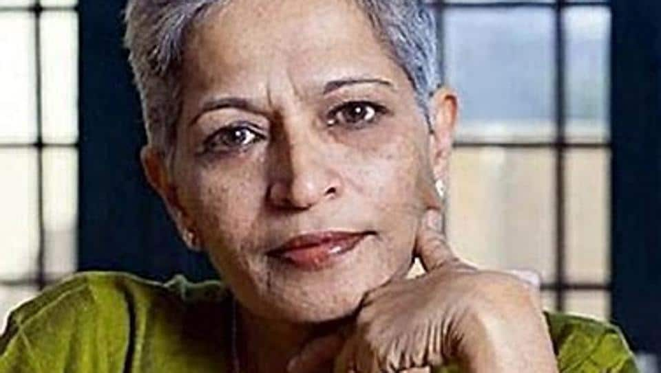 Gauri Lankesh was the daughter of the famous writer and journalist P Lankesh.