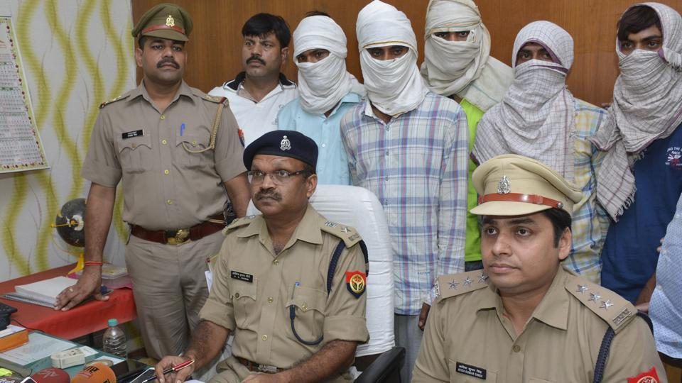 Five members of Sansi gang were arrested by Ghaziabad police on Wednesday.