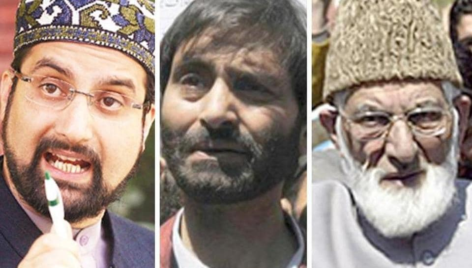 "A joint press statement issued by the three separatists accused the Indian government of ""trying to skirt the actual issue"" by pursuing a three-pronged policy of coercion, defamation and intimidation in Kashmir."