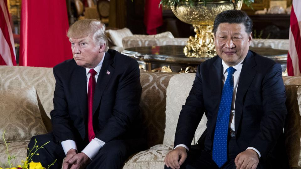 President Donald Trump with Chinese President Xi Jinping, April 6, 2017. China's strategic gains from a successful military intervention in North Korea would include not only control of what happens on the Korean Peninsula, but also regional gratitude for having prevented a catastrophic war