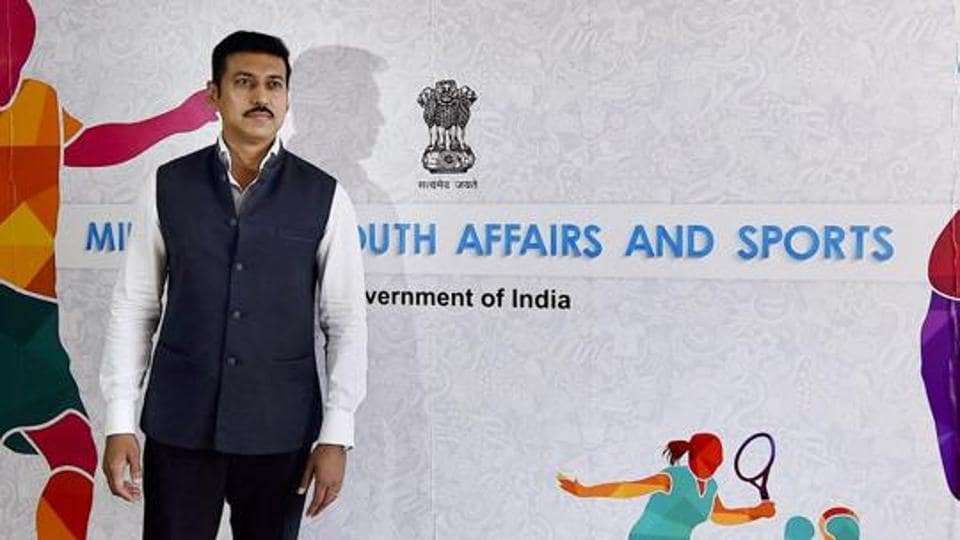Rajyavardhan Singh Rathore,Ministry of Youth Affairs and Sports,Sports Minister
