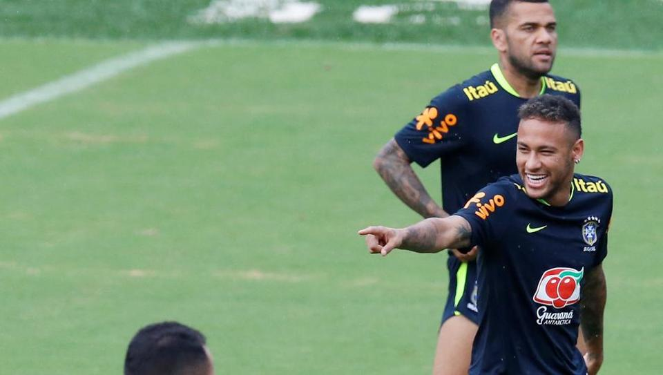 Neymar (R) moved to Paris Saint-Germain from Barcelona for world record 222 million euro.