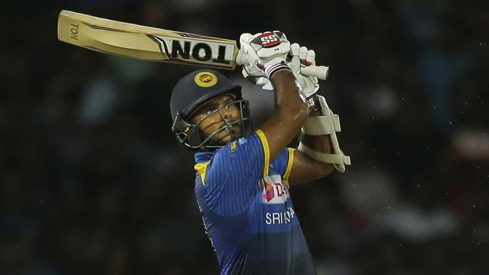 Sri Lanka were then led by Dilshan Munaweera, who hit five fours and four sixes in his 53-run knock.  (AP)