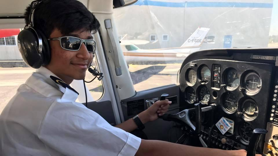 14-year-old Indian boy in UAE is youngest pilot to fly