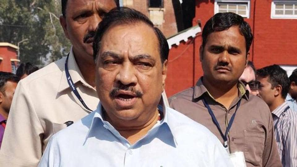 Khadse had taken a press conference on Wednesday, refuting the charges of misogyny even as he said he had named no one in the speech.