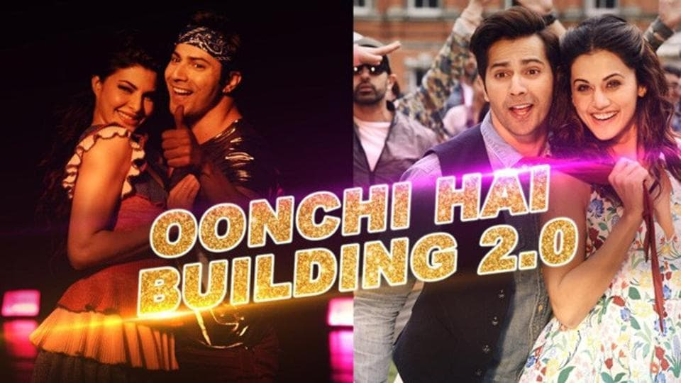 Judwaa 2's song Oonchi Hai Building 2.0 brings back the fan favourite tapori number with Varun Dhawan, Jacqueline Fernandez and Taapsee Pannu doing the honours.