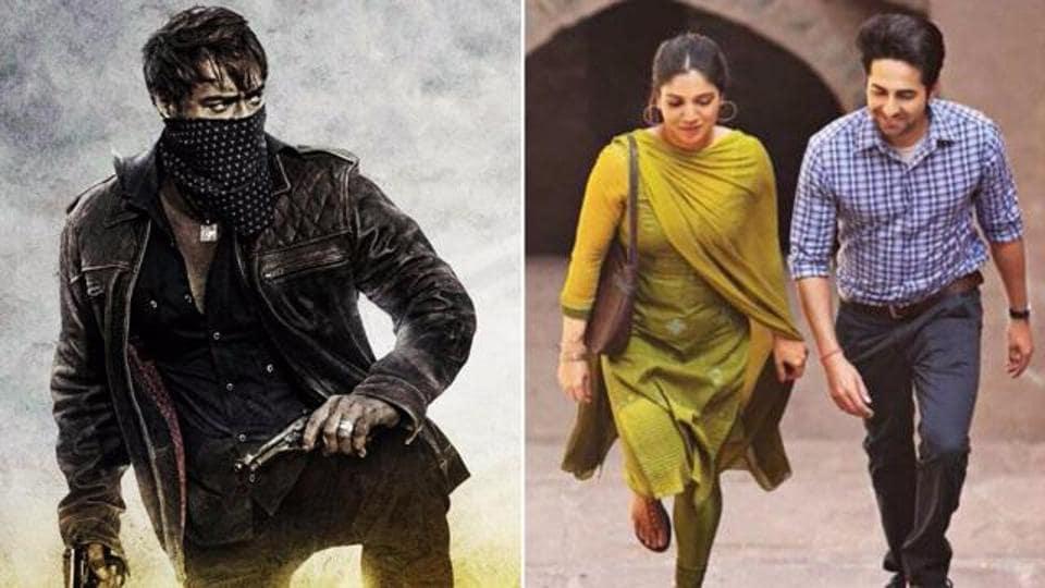 Baadshaho and Shubh Mangal Saavdhan look good at the box office.