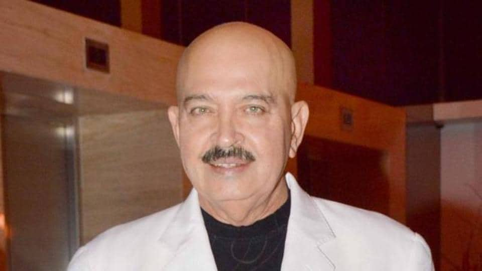 Rakesh Roshan celebrated her 68th birthday with friends and family.