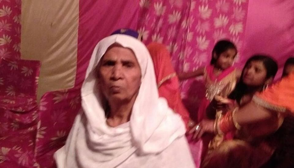 Laxmi Devi lived on the ground floor of her two-storey home for the last 15 years