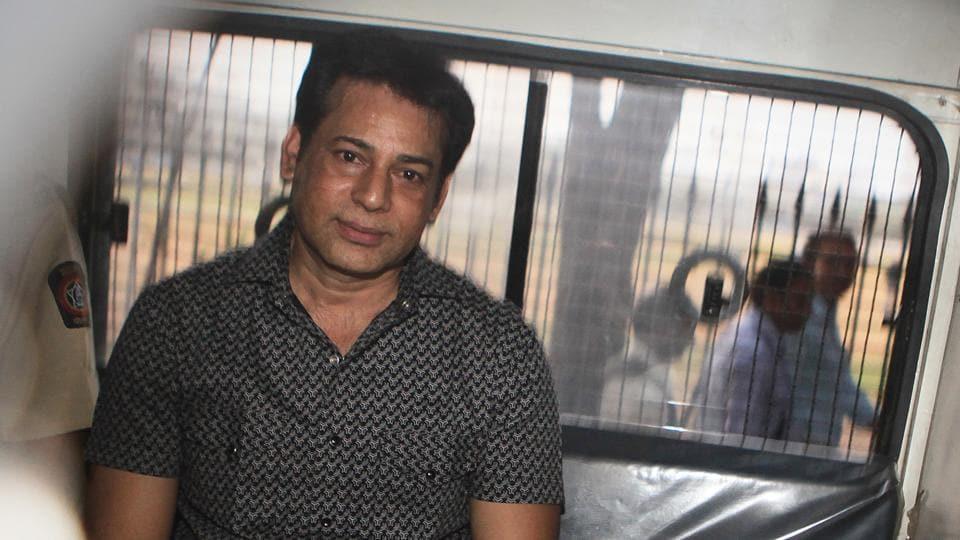 File photo of Abu Salem being taken to a court in Mumbai.