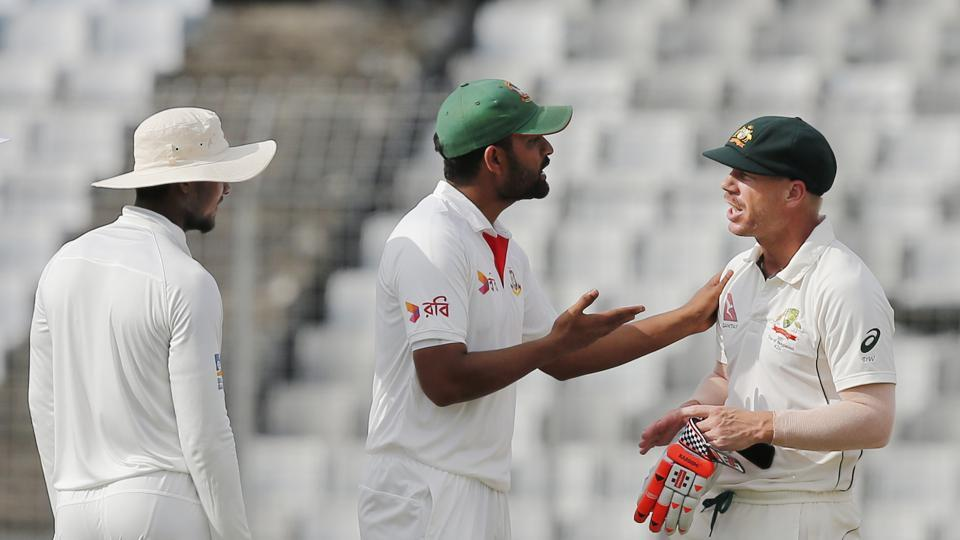 Bangladesh's cricket team showed that they could sledge Australia and compete on equal terms during the two-Test series that ended 1-1.