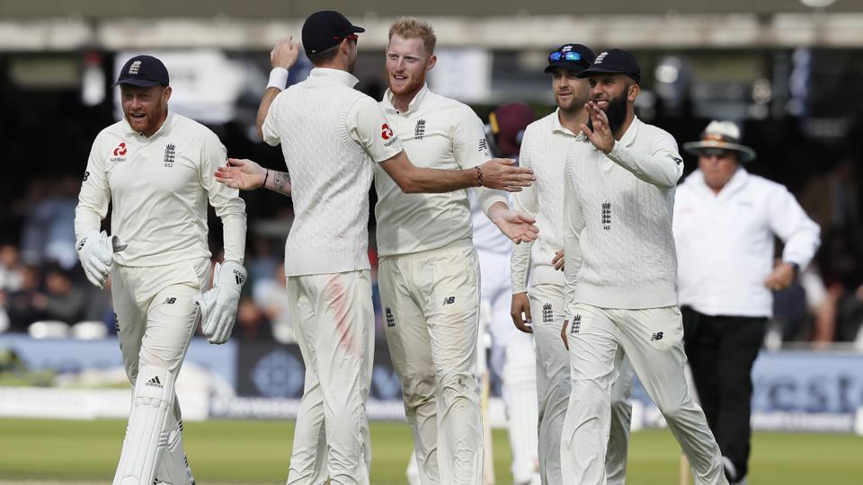 Ben Stokes picked up 6/22 to bowl West Indies out for 123. Get full cricket score of England vs West Indies, third Test (Lord's Test), Day 1 here.