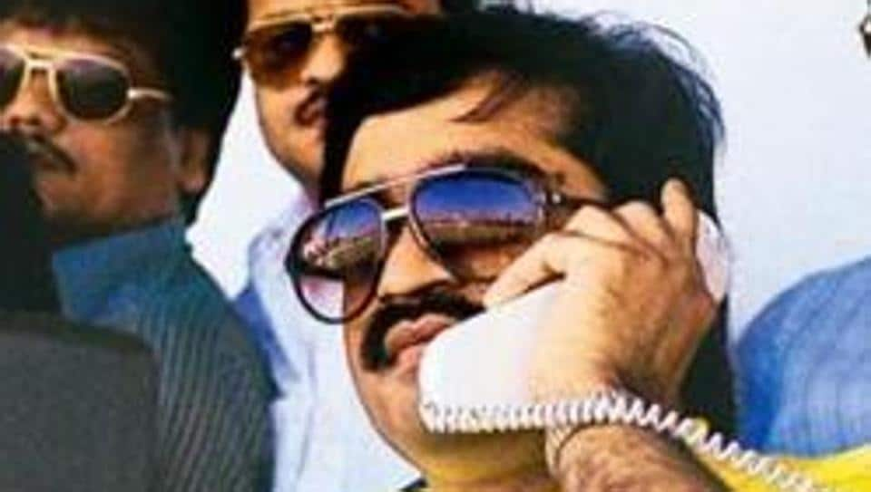A file photo of underworld don Dawood Ibrahim, the prime accused in the 1993 Mumbai blasts who is still on the run.