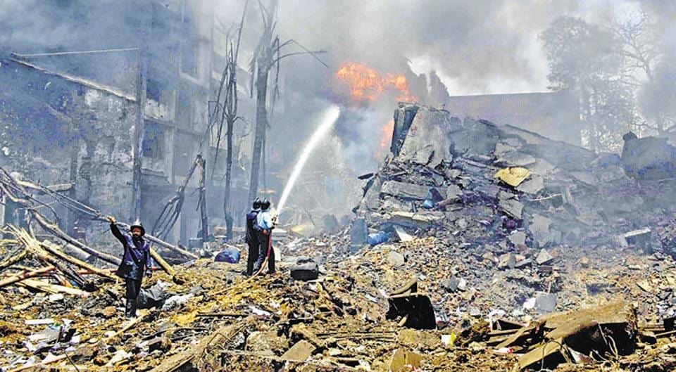 Image result for Six dies as fire breaks an under-construction building in Mumbai