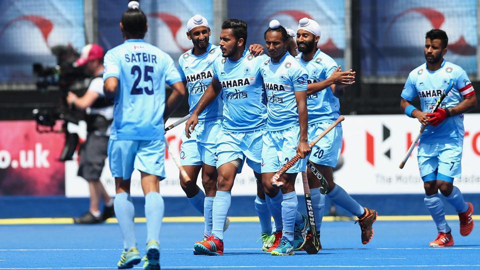 India will start their campaign in the Hockey World League final against Australia while their group also includes current Olympic bronze medalist Germany.