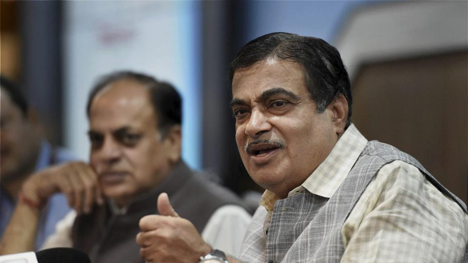 Union Minister of Road Transport and Highways at a press conference in New Delhi on Wednesday.