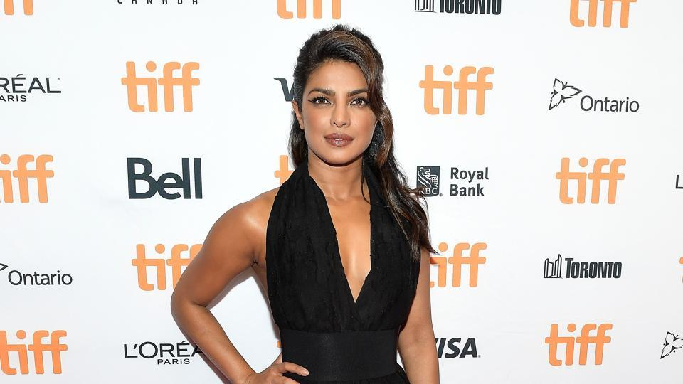 Actor Priyanka Chopra attends the TIFF Soiree during the 2017 Toronto International Film Festival at TIFF Bell Lightbox on Wednesday.