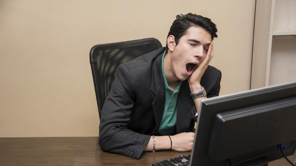 Excessive Yawning,Yawning At Work,Contagious Yawning