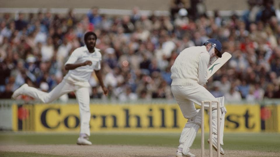 Michael Holding,Test cricket,England vs West Indies