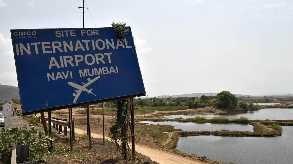 The Navi Mumbai airport is proposed to be built on 1,160 hectares of land across ten villages on which about 3,500 families live.