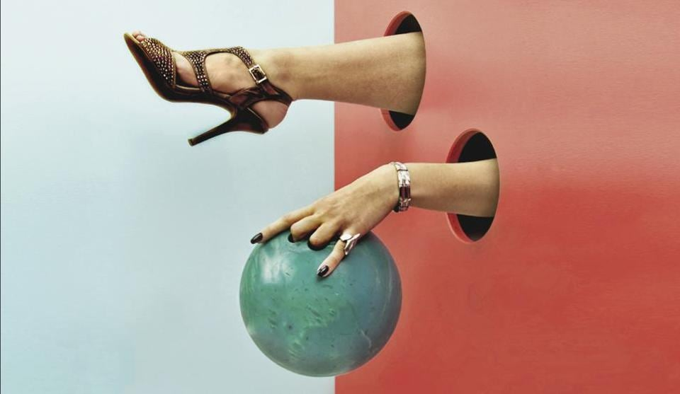 Women in heels feel more put together, more in control, more business-like and professional