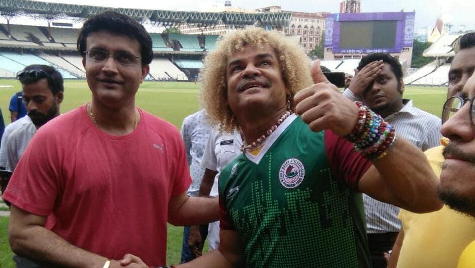 Sourav Ganguly,Carlos Valderrama,FIFA U-17 World Cup