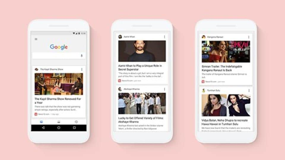 Google app's Personalised Feed is a refreshing change