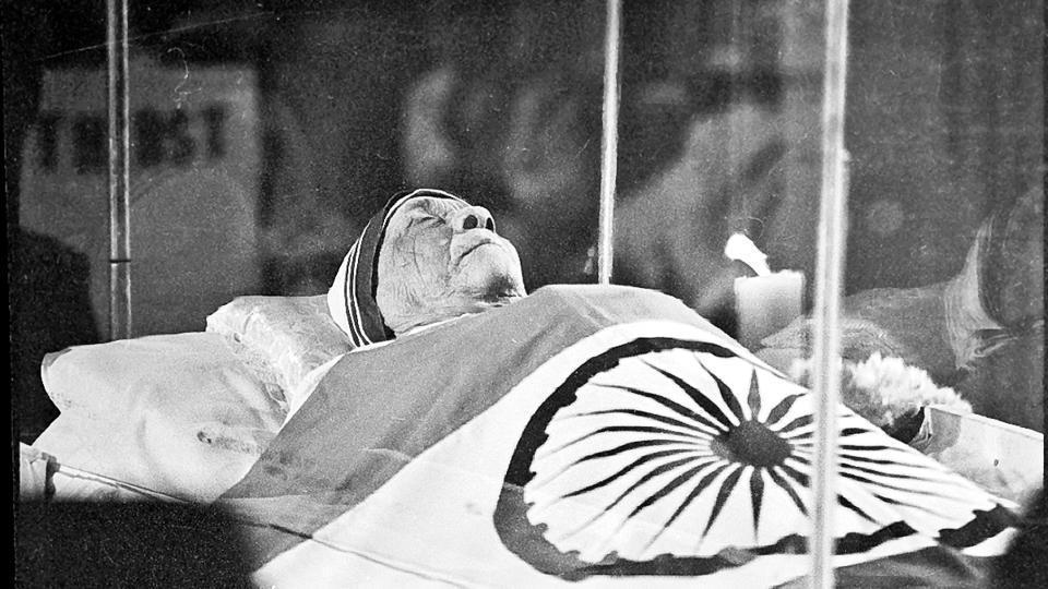 Mother Teresa died of a heart attack on September 5, 1997. She was beatified in 2003 and canonised in 2016.