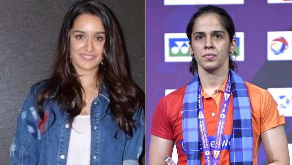 Saina Nehwal,Shraddha Kapoor,badminton