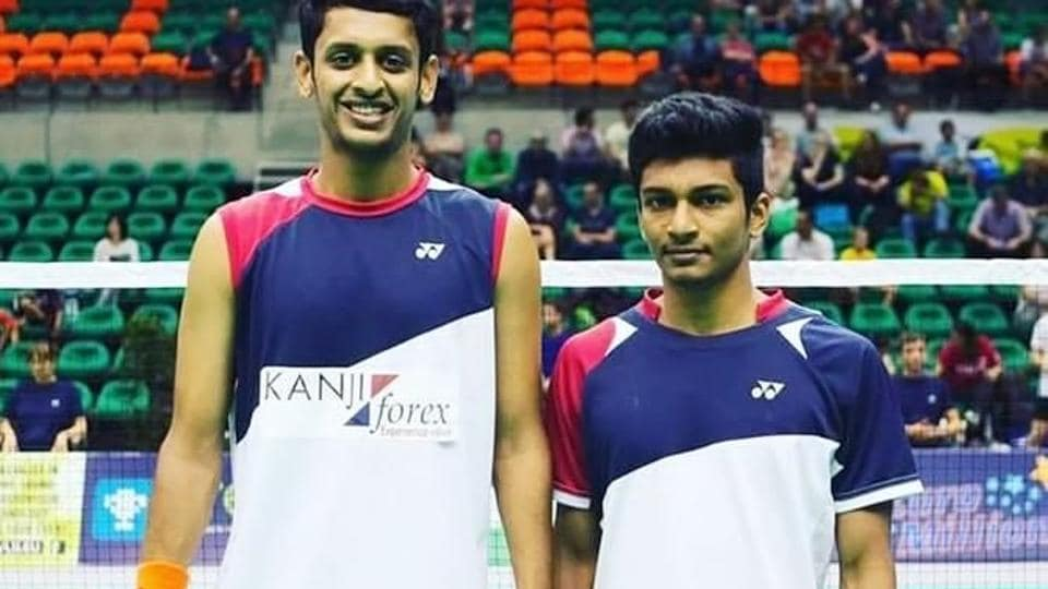Shlok Ramchandran and MR Arjun (R) have entered the men's doubles semifinals of the Vietnam Open Grand Prix.