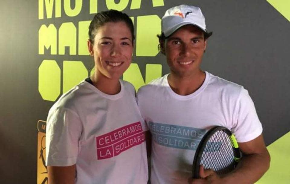 Garbine Muguruza and Rafael Nadal are both ranked No. 1 in their respective divisions.