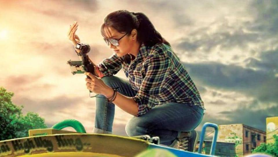 jyothika plays a documentary filmmaker in Magalir Mattum which hits the screen on September 15.