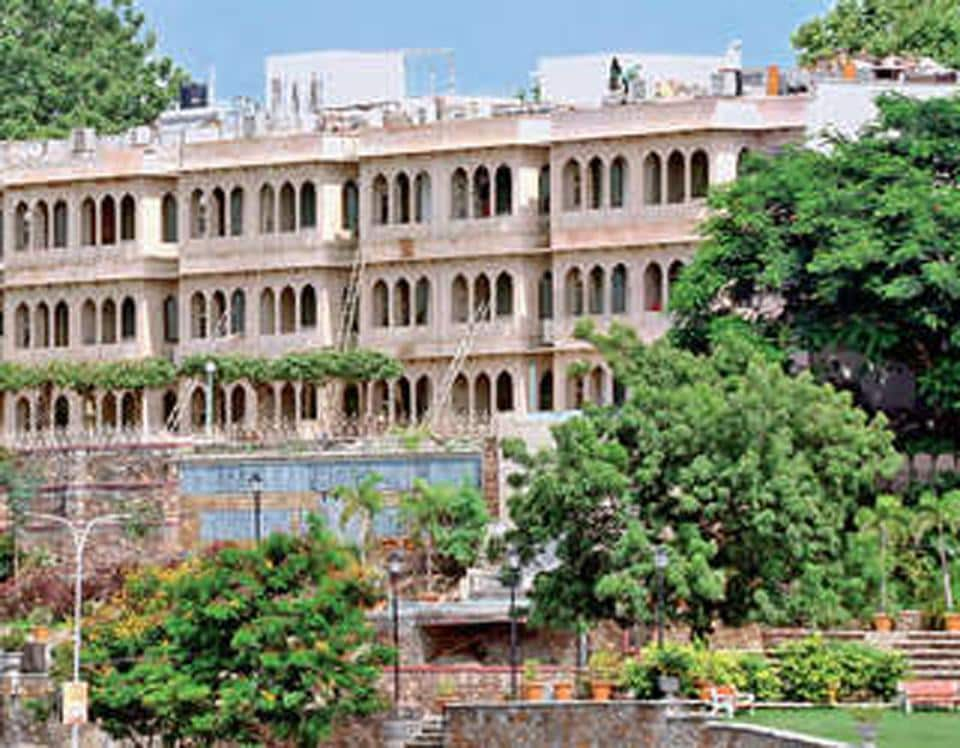 The Udaipur circuit  house.