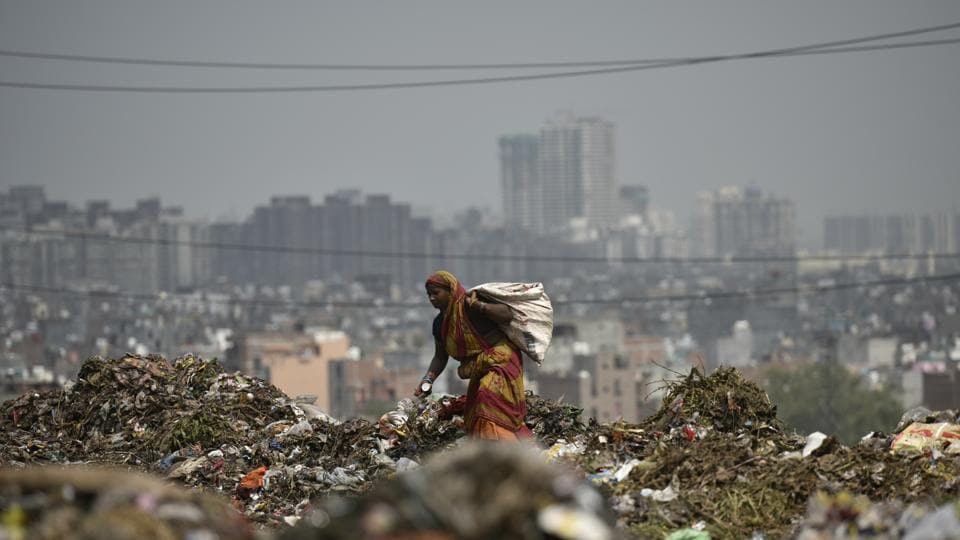A part of Ghazipur dumpyard collapsed on September 1 killing two people.Delhi L-G AnilBaijal later  ordered authorities to immediately stop dumping waste at the site.