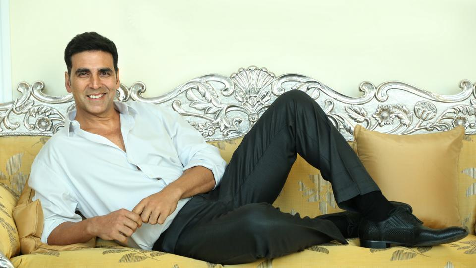 Actor Akshay Kumar is celebrating his 50th birthday in Switzerland with wife Twinkle and children Aarav and Nitara.