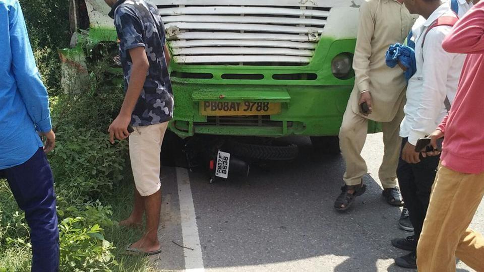 Jalandhar news,Punjab news,road accidents in punjab
