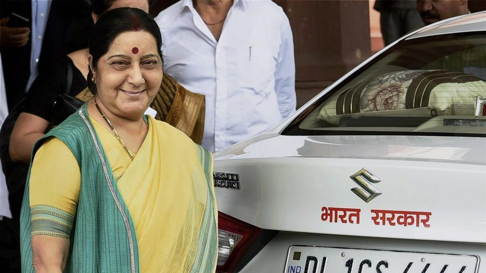 External affairs minister Sushma Swaraj is prompt on social media and has earned praise in the past for helping Indians abroad.