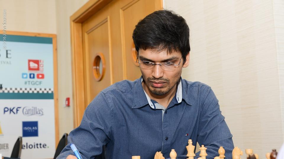 Pentala Harikrishna lost in the tie-breaks in the second round of the Chess World Cup in Georgia to be eliminated from the tournament.
