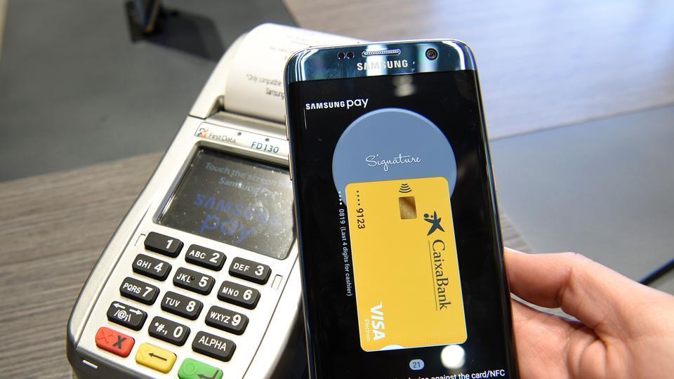 Yes bank,Samsung,Samsung pay