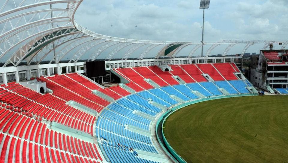 Lucknow's new Ekana International Cricket Stadium may host the third India vs New Zealand ODI on October 29.