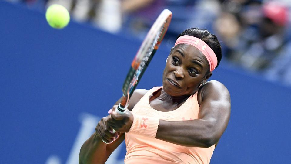 Sloane Stephens beat compatriot Venus Williams to enter the USOpen finals.