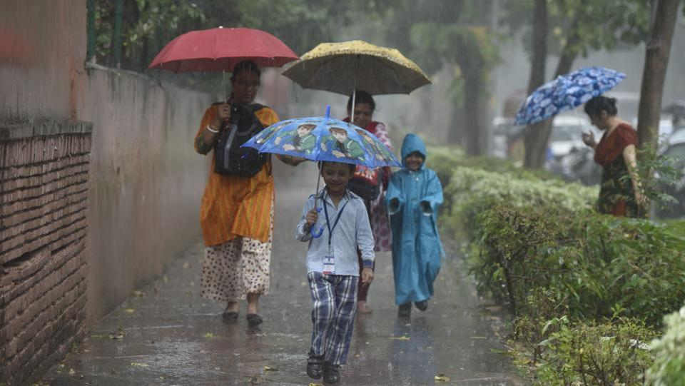 Delhi usually receives around 567mm of rain between June 1 and September 6. But this year, it received around 369mm rain during this period.