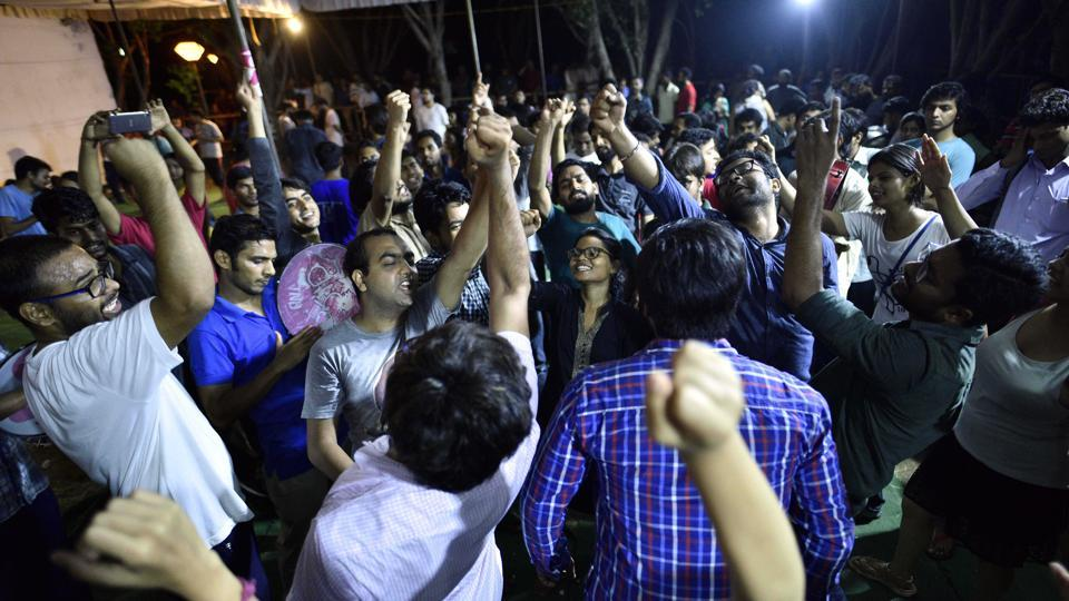 Birsa-Ambedkar-Phule Students' Association (BAPSA) leaped to the second position in all four central panel seats where ABVP was initially giving a tough fight to the Left unity.