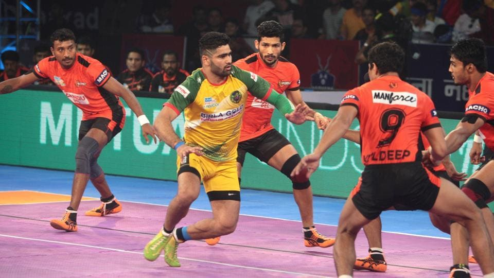 U Mumba held their nerve to defeat Patna Pirates 51-41 in the Inter Zone Challenge Week of Pro Kabaddi League 2017.