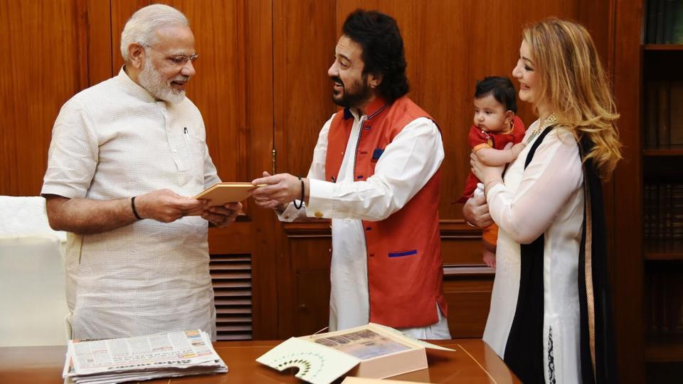 Adnan Sami was granted the Indian citizenship by the Modi government.
