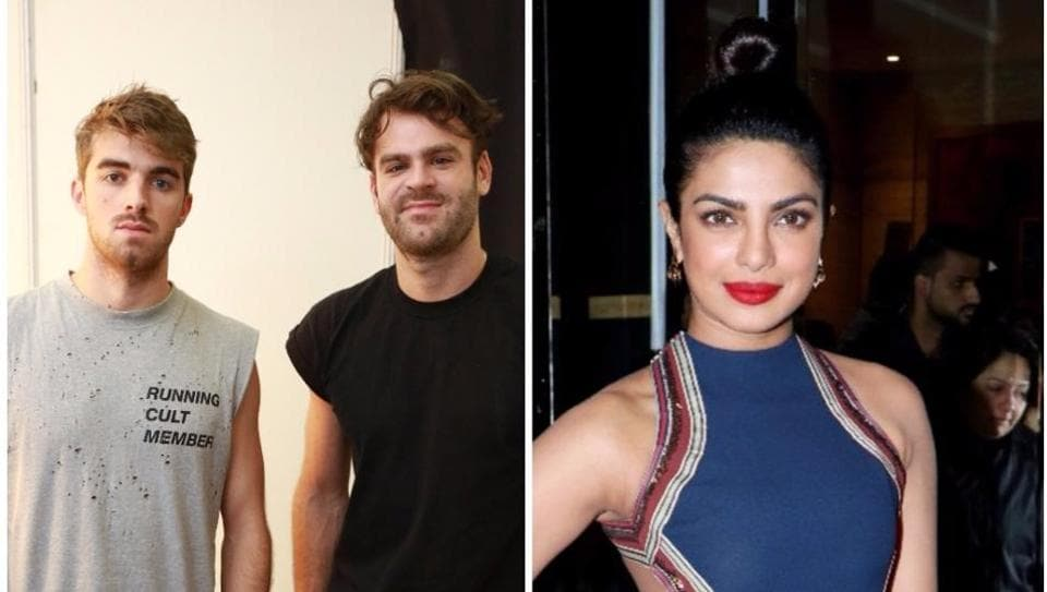 Globally renowned music duo The Chainsmokers collaborated with Bollywood actor Priyanka Chopra for their song Erase.