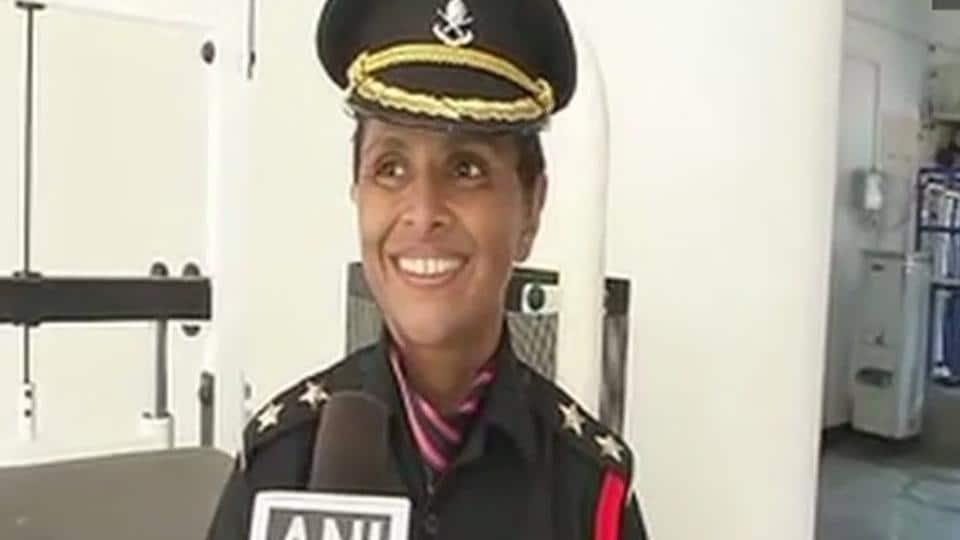 Colonel Santosh Mahadik,Santosh Mahadik's wife,Lieutenant